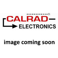 Calrad 85-590: Blk Base/Red Cap Knob 9/16